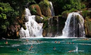 Krka River Falls