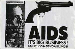RiotGrrl posters: AIDS RiotGrrl poster