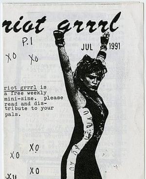 RiotGrrl posters: Neuman RiotGrrl poster