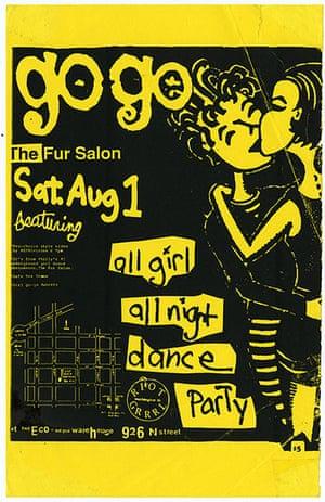 RiotGrrl posters: GoGo RiotGrrl poster