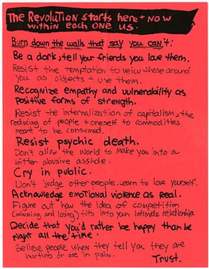 RiotGrrl posters: Revolution RiotGrrl poster