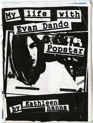 RiotGrrl posters: Evan Dando RiotGrrl poster