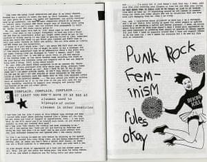 RiotGrrl posters: Punk Rock RiotGrrl poster