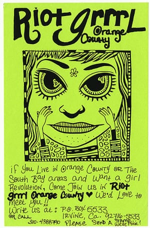 RiotGrrl posters: Orange County