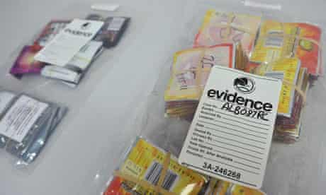 Synthetic drugs bust