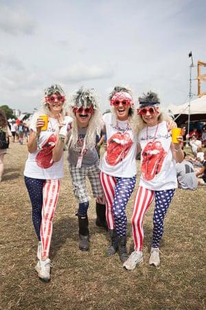 Glastonbury: The 'other' Rolling Stones