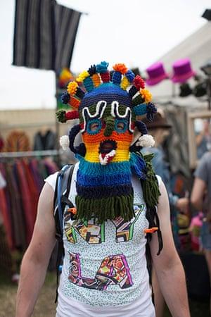 Glastonbury: Best head gear so far!