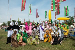 Glastonbury: The animals came in two by two