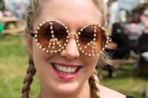 Glastonbury: Groovy sunglasses