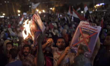 Protesters Rally Against President Morsi In Tahrir Square