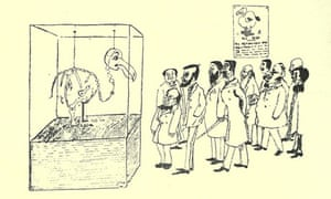 Basil Temple Blackwood's drawing of the Oxford dodo in Hilaire Belloc's Bad Child's Book of Beasts