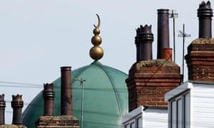 A mosque in Leeds