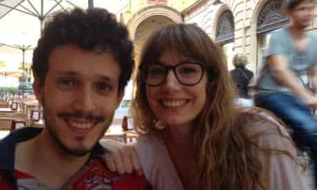 Daniele Bitetti and Sylvia Melchiorre