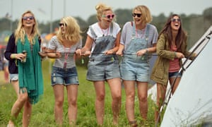 Glastonbury fashion: breton tops