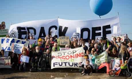 Camp Frack Protest Encampment & March
