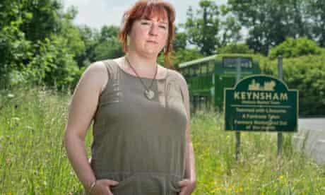 anti-fracking campaigner Laura Corfield