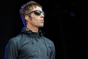 Glastonbury day 1: Liam Gallagher