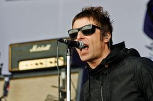 Glastonbury day one: Liam Gallagher