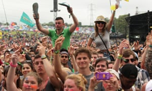 Flip-flops, at Glastonbury? That's never a great idea.