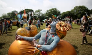 Glastonburuy festival