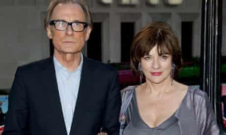 Bill Nighy And ex-wife Diana Quick, who recently split quietly after 27 years of marriage.