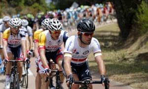 英国的马克·卡文迪什在第100届科西嘉环法自行车赛的第一阶段。