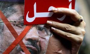 Anti-Morsi protester in Egypt