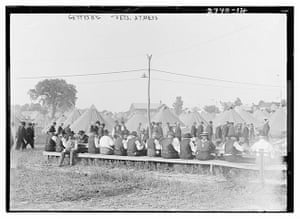 gettysburg reunion: Veterans at mess