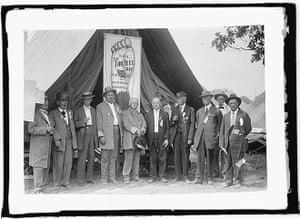 gettysburg reunion: North Carolina vets