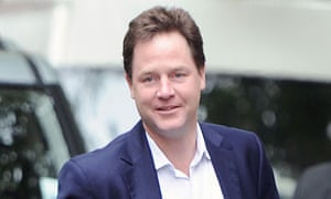 Nick Clegg said the sleaze allegations were the equivalent of groundhog day