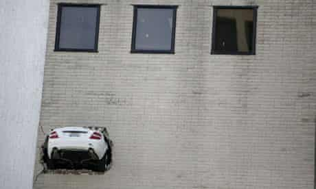 Car park disaster
