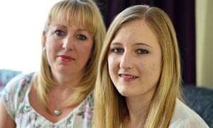 Gemma Garfirth and mother Mandy