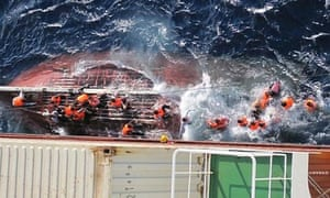 Asylum seekers rescued aboard the JPO Vulpecula