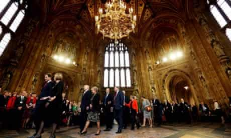 Central lobby of House of Commons