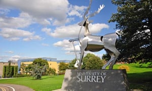 The University of Surrey: 'a lovely place to be.'