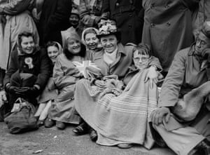 Queen's coronation 1953: A woman and her son who camped out overnight