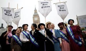 Modern suffragettes