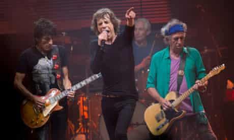 Rolling Stones make Glastonbury debut