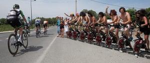 TDF: Cycling fans