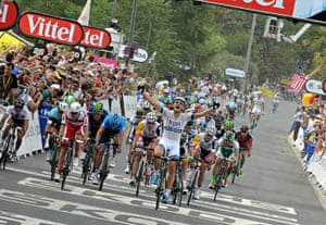 TDF: Marcel Kittel of Team Argos-Shimano just has the legs to take first place