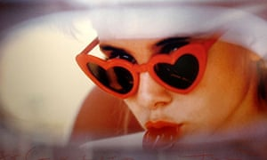 Sue Lyon as Lolita. Bert Stern's photograph was used to promote Stanley Kubrick's film