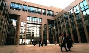 The Justus Lipsius building in Brussels
