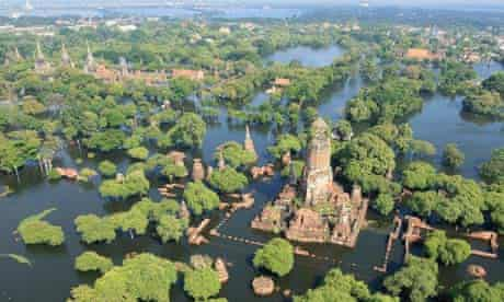 Flooding in Thailand in 2011