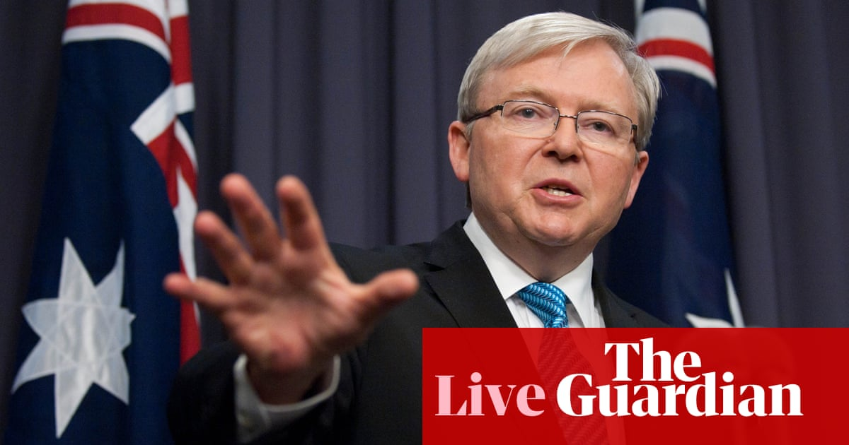 Kevin Rudd Unveils His Ministry As It Happened Australian Politics The Guardian