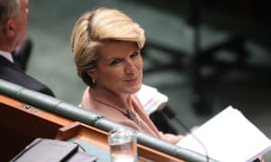 The Deputy Leader of the Opposition Julie Bishop. The Global Mail. Mike Bowers