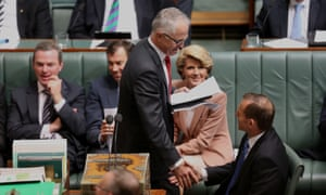 The Shadow Minister for Broadband returns to the House after his hour suspension. The Global Mail. Mike Bowers.