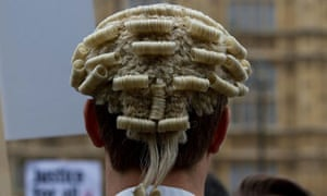 Barristers are campaigning against big cuts to legal aid