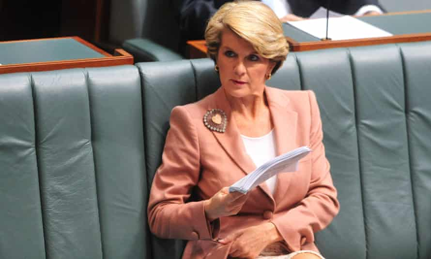 Julie Bishop at House of Representatives question time on Tuesday