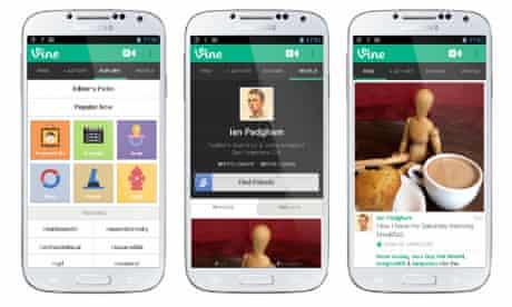 Twitter Vine Android app