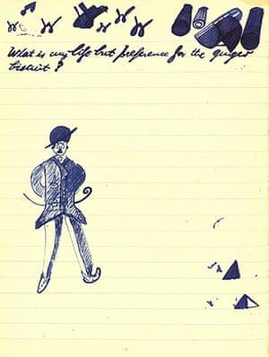 Murphy: Samuel Beckett - doodles